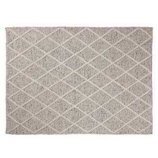Alfombra BLON lana 160x230 gris claro