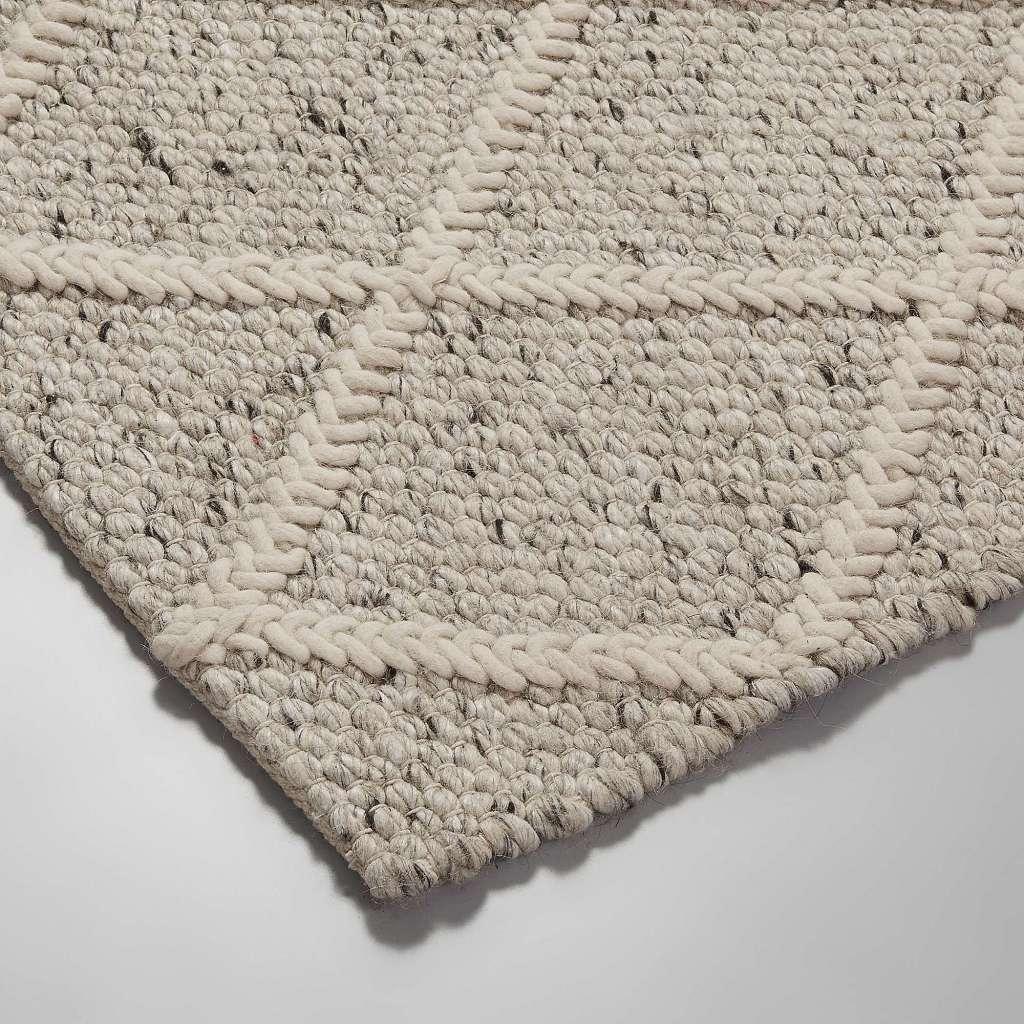 alfombra blon lana 160x230 gris claro On alfombra lana
