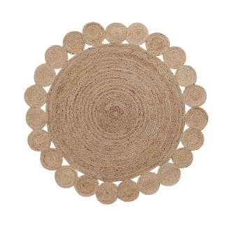 Alfombra yute CESON redonda 150 natural