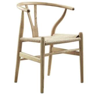Silla Wishbone fresno natural CH24 Style