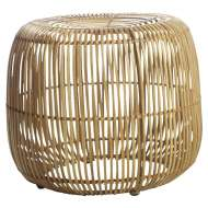 Taburete MODERN 46 cm, rattan natural - House Doctor