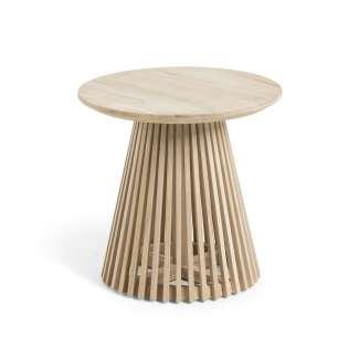 Mesa auxiliar Jeanette madera teca