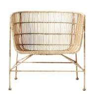 Sillón CUUN, rattan natural - House Doctor. Las exclusivas sillas de diseño nórdico de House Doctor en Vackart, tu tienda de diseño.