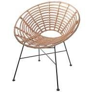 Silla FIDEL NATURAL 77cm, estilo nórdico y de diseño en Vackart. Diseña tu hogar con nuestras sillas exclusivas de diseño escandinavo.