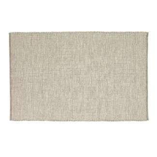 Alfombra FOK 120x180 cm, Algodón Blanco / Gris - Hübsch. Vackart