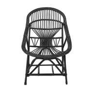 Sillón SKOVMØRKE, Caña Negra - Bloomingville. Los modernos y exclusivos sillones de diseño nórdico de Bloomingville, en Vackart tu tienda de diseño online.