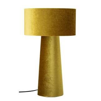 Lámpara de Sobremesa NIINA, Poliéster Dorado / PVC - Bloomingville. Vackart