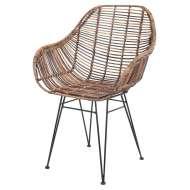 Silla VIGGO , Asiento ratán, estilo nórdico y de diseño en Vackart, tu tienda de diseño más cool.