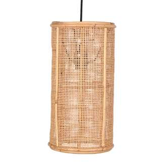 Lámpara de Techo OLIVER MINI, Ratán Natural. Vackart