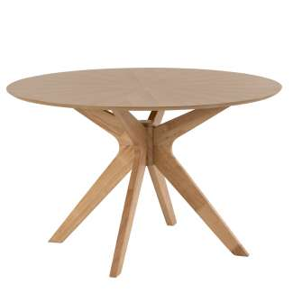 Mesa de comedor NORDAK 120 cm, roble
