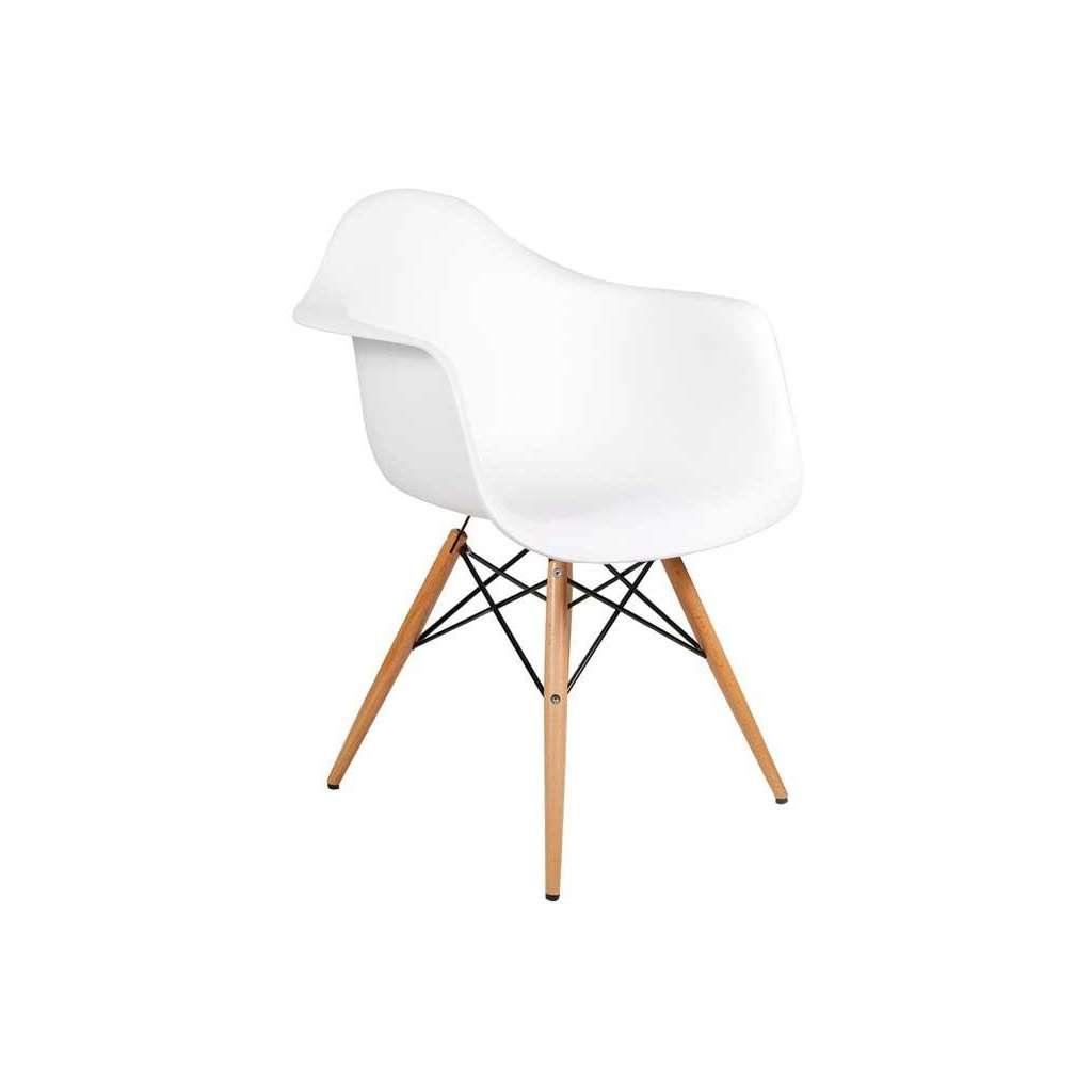 94196ec64 Silla Eames DAW Blanco Inspiración DAW de Charles & Ray Eames - Alta ...