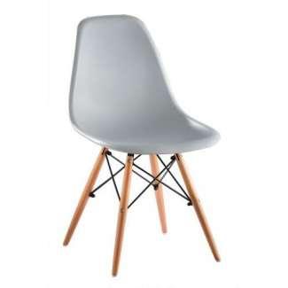 Silla Eames Dsw Gris Claro New Style Inspiración