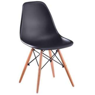 Silla Eames DSW negro New Style