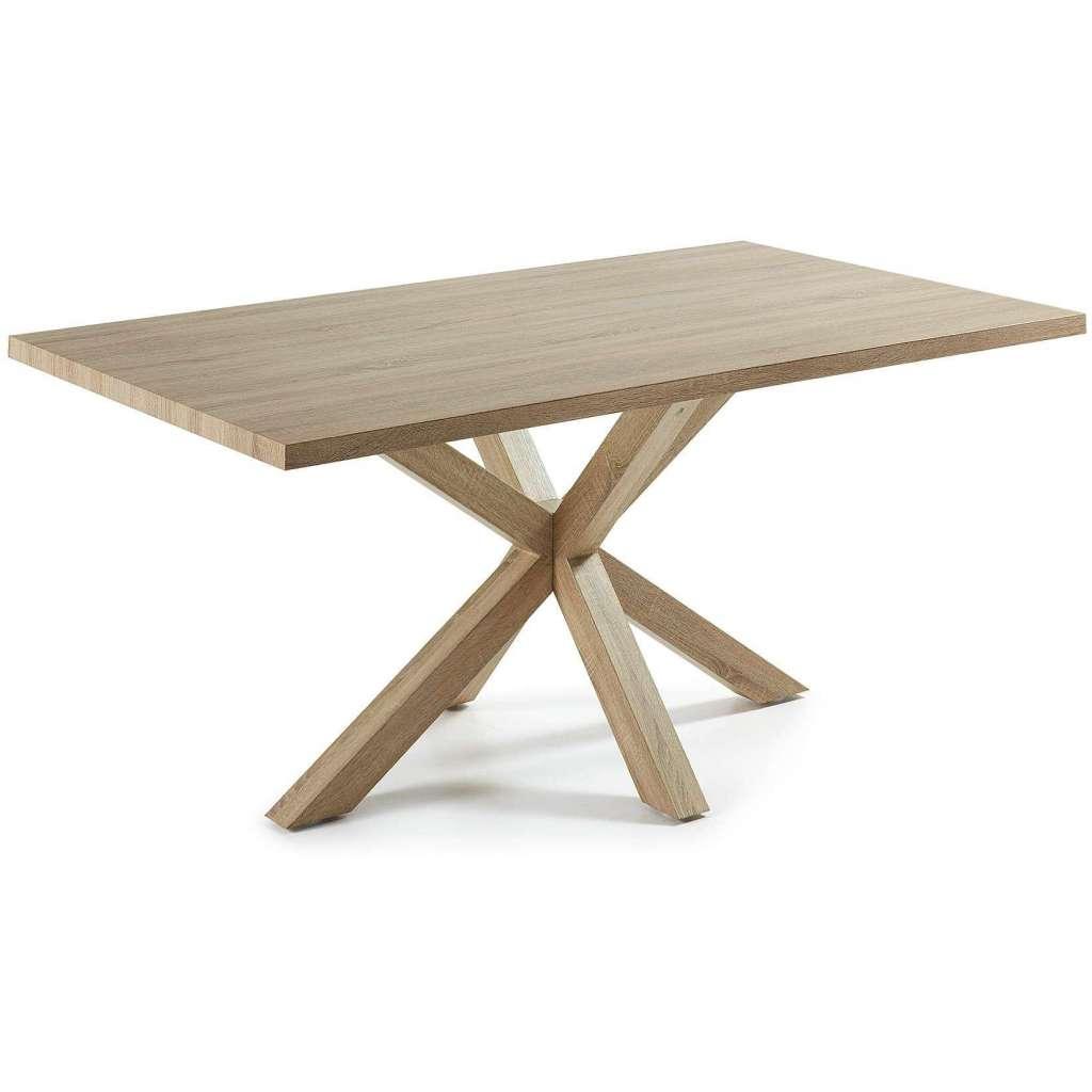 Mesa de comedor luft 180x100cm madera natural mesa for Mesas de comedor madera natural