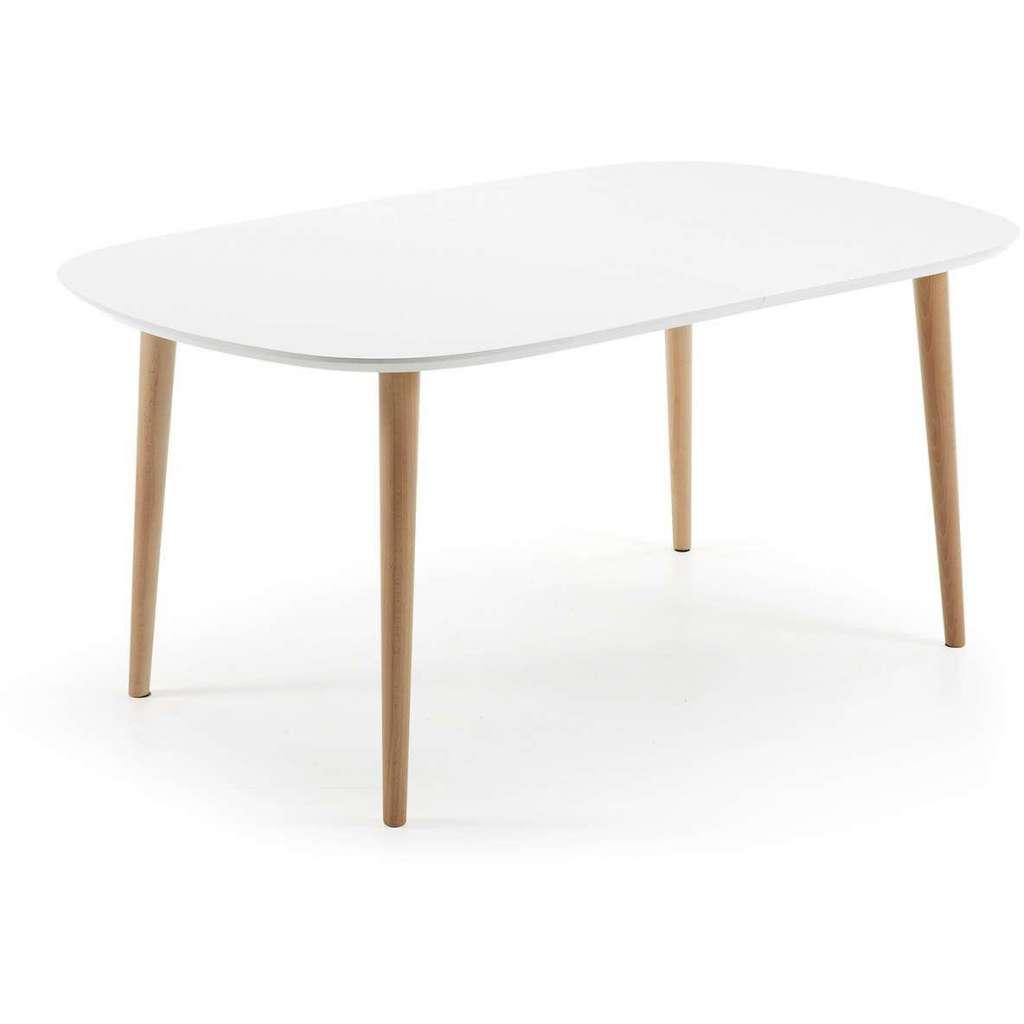 Mesa de comedor extensible oval norsk 160 260 x910cm - Mesas ovaladas extensibles ...